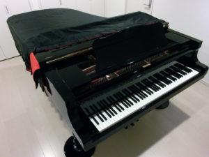 札幌市北区麻生駅と東区栄町駅近くの駐車場がある工藤麻子ピアノ教室にはコンサートグランドピアノガアあります